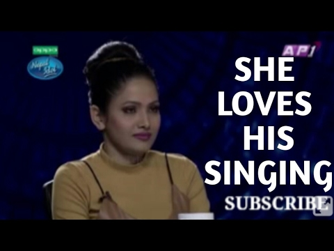 Rockstar entry in Nepal Idol Audition   Indira Joshi Cant stop Her emotion
