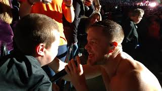Imagine Dragons' Dan Reynolds Serenades His Biggest Little Fan