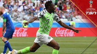Nigeria Dashes Iceland 39 S Hopes With Win Helps Argentina Out In The Process