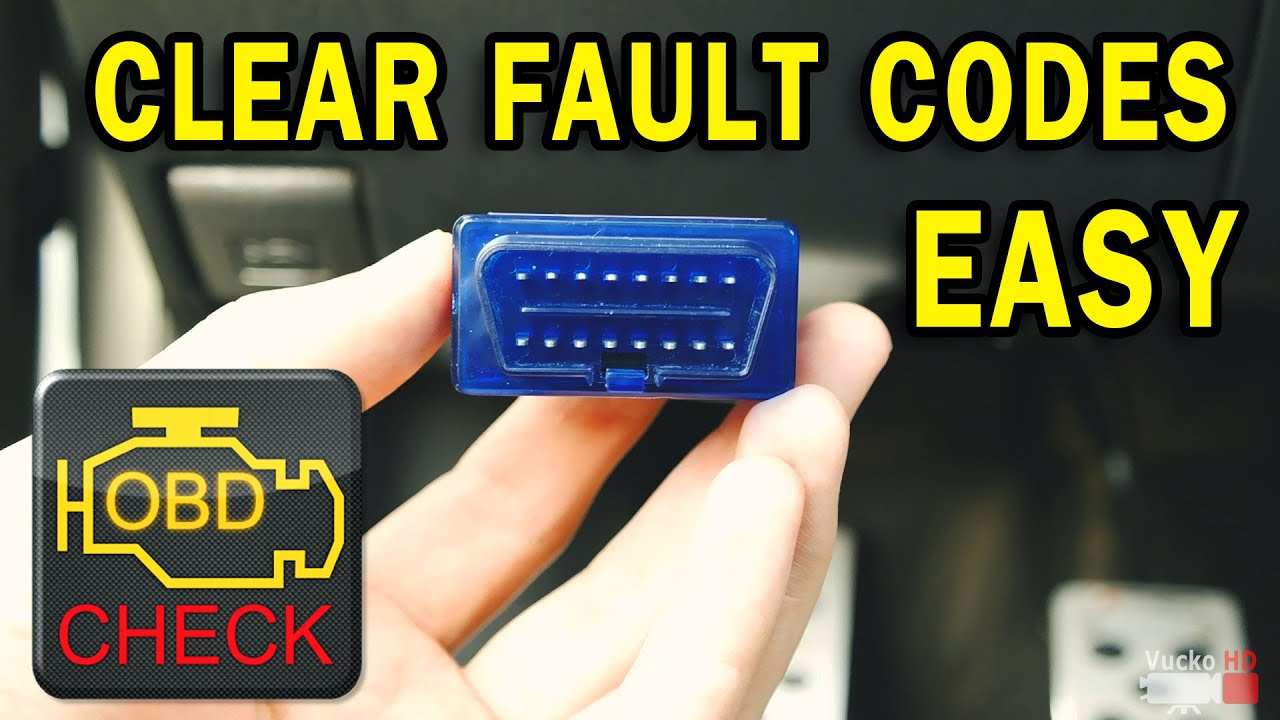 how to easy read clear car fault codes elm327 obd ii youtube. Black Bedroom Furniture Sets. Home Design Ideas