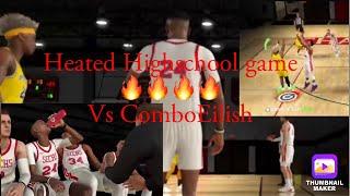 5v5 Highschool Game !!!!!! CLUTCH SHOT HIT