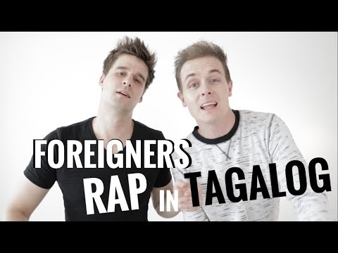 AMAZING!!! FOREIGNERS RAP IN TAGALOG!! MUST WATCH!! Diwata by Abra ft. Chito Miranda cover
