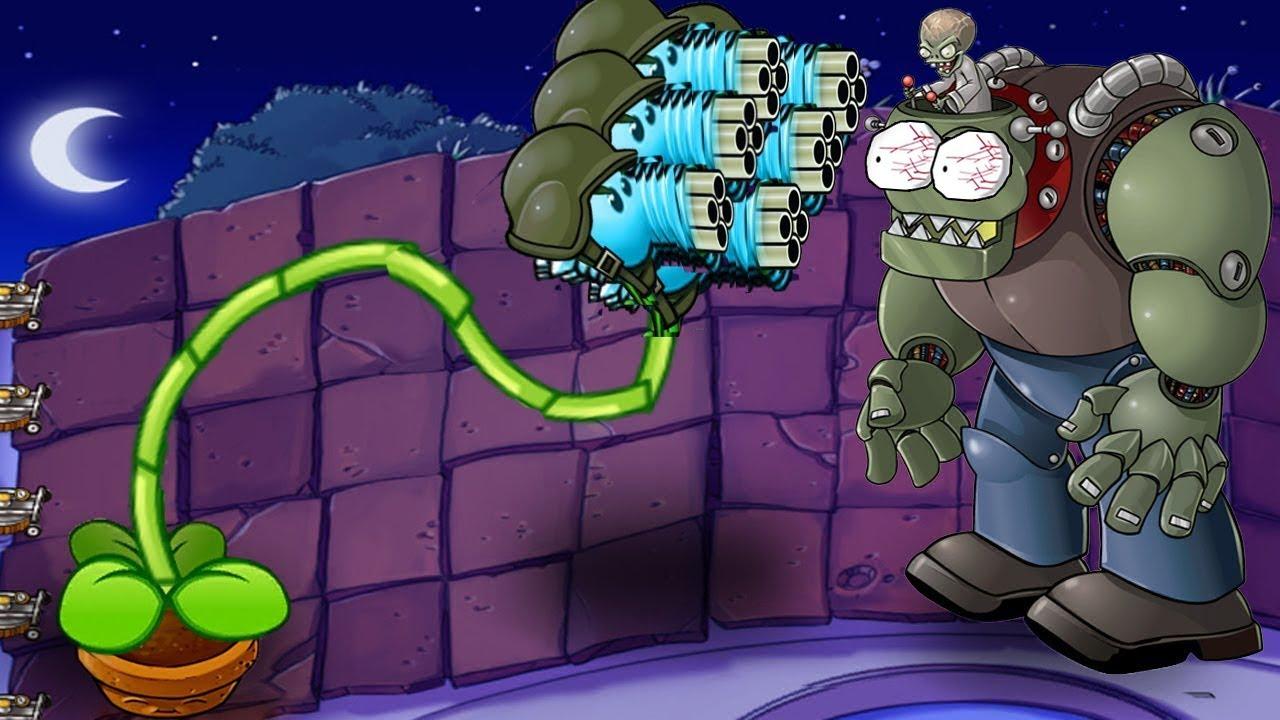99 Snow Pea vs Zomboss vs Gargantuar Plants vs Zombies