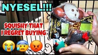 NYESEL BELI SQUISHY!!! SQUISHY I REGRET BUYING.