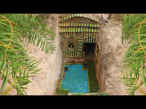 Dig to Build Amazing Secret Swimming Pool and Hidden Underground House