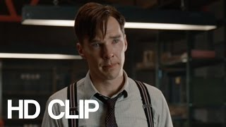 The Imitation Game (HD CLIP) | Playing God