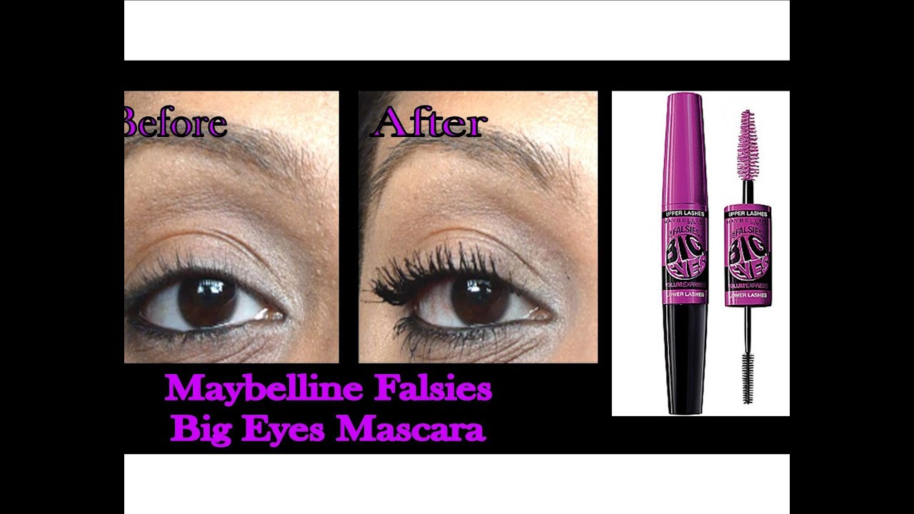1fcb3d298bb Maybelline Volume Express Falsies Big Eyes Mascara Review and Demo ...
