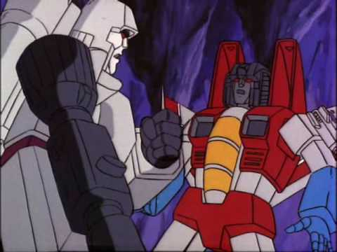 transformers megatron and starscream relationship