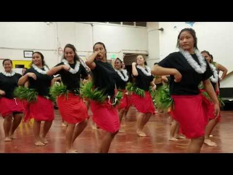 Kahuku Poly dance class.  Tahiti