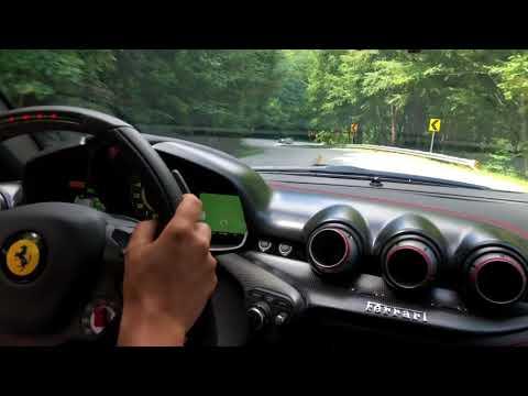 Ferrari TDF in the Italian Alps Mp3