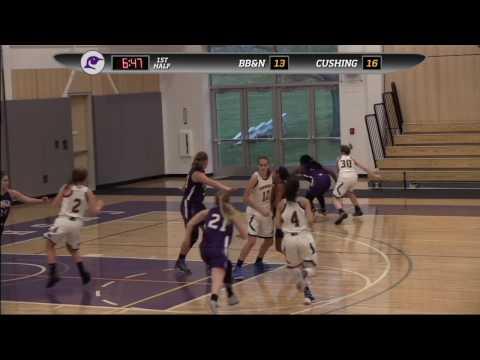 Cushing Academy - Varsity Girls Basketball vs. Buckingham, Browne & Nichols School
