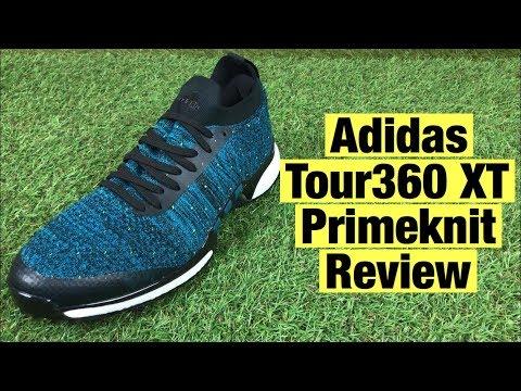 Adidas Tour 360 XT Primeknit Golf Shoes Review - The Newest Adidas Golf Shoes