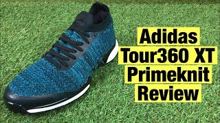 Gambar cover Adidas Tour 360 XT Primeknit Golf Shoes review - The newest Adidas Golf Shoes