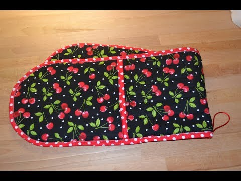 EPISODE 39 - Fast and Easy Part 2 (of 2) Quilted Oven Glove Tutorial