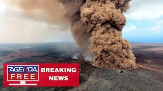 Gas Explosion at Hawaii Volcano - LIVE BREAKING NEWS COVERAGE