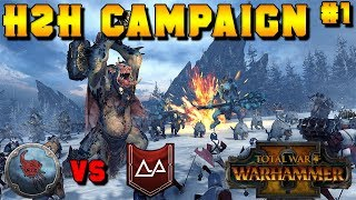 Head to Head Campaign #1 - Turin (Karak Kadrin) vs. Wintertooth | Total War: Warhammer 2