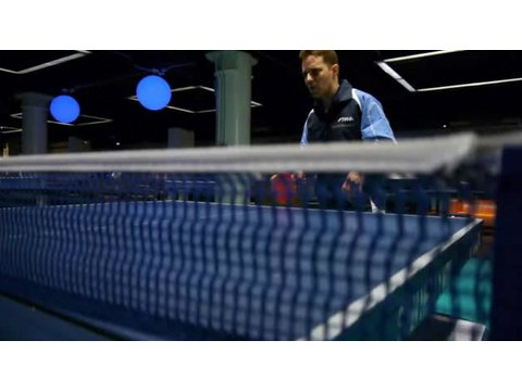 how to hit with topspin ping pong