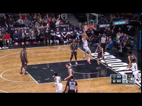 1st Quarter, One Box Video: Brooklyn Nets vs. Denver Nuggets