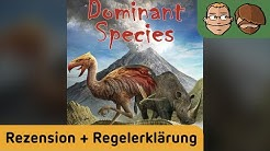 Dominant Species - Brettspiel - Review und Regelerklärung