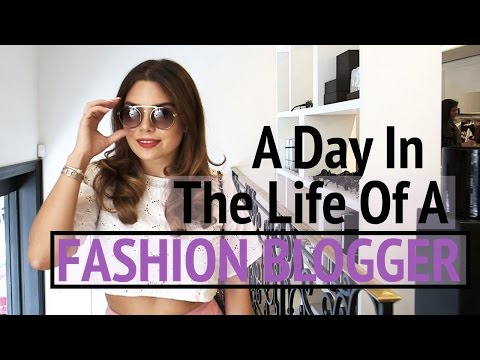 A Day In The Life of A FASHION BLOGGER | Gracie Carroll