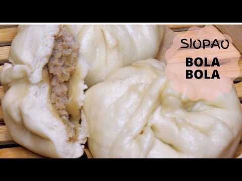 The Best Siopao Bola Bola Recipe Steamed Pork Buns Recipe How To Make Siopao Youtube