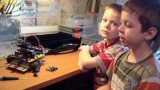 Сумо-робот из Arduino и LEGO Technic