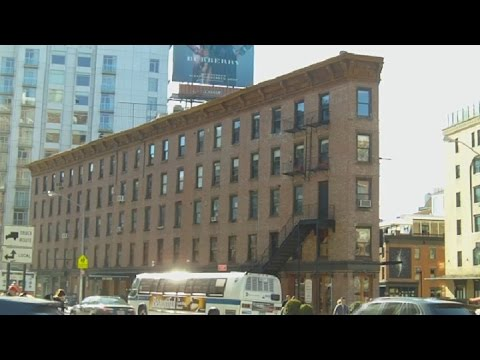 Little Flatiron Building in New York's Meatpacking District