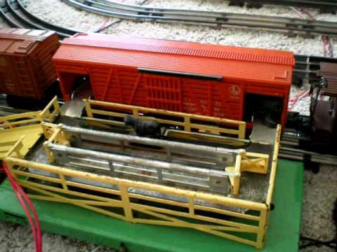 Lionel cattle car and stockyard 3656 youtube lionel cattle car and stockyard 3656 cheapraybanclubmaster Gallery