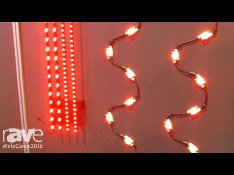 InfoComm 2016: Daktronics Showcases Daktronics Freeform Architectural Lighting