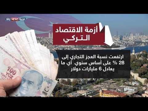 الاقتصاد التركي.. صدمات مستمرة منذ سنوات  - 21:22-2018 / 5 / 23