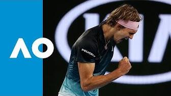 Alexander Zverev v Jeremy Chardy match highlights (2R) | Australian Open 2019
