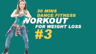 30 Mins Dance Fitness Workout for weight loss #3| Bài tập nhảy 30 phút giúp eo thon gọn mỗi ngày |