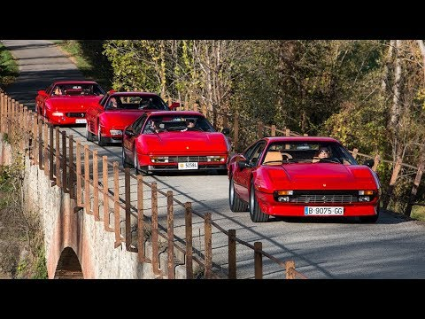 Ferrari 308 Gtb Quattrovalvole 328 Gtb 348 Tb Y F355 Berlinetta Motor Clásico Youtube