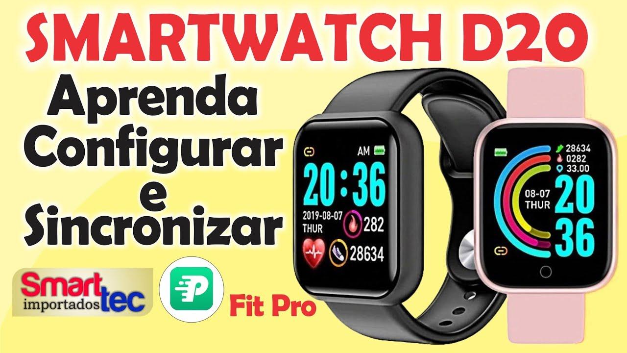 Download Como configurar e Sincronizar Smartwatch D20 (Y68) ATUALIZADO 2021
