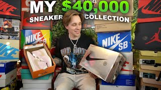 My Entire $40,000 SNEAKER COLLECTION!