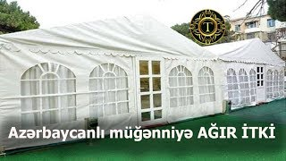 Azərbaycanlı müğənniyə -AĞİR İTKİ -- FOTO