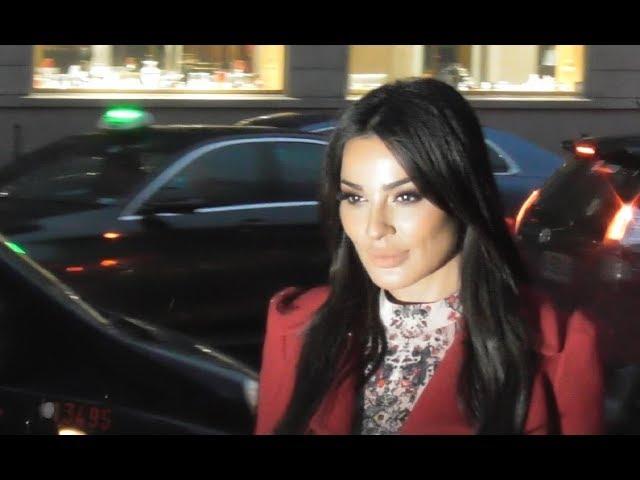 Nadine Nassib Njeim نادين نسيب نجيم @ Paris 23 january 2019 Fashion Week show Zuhair Murad