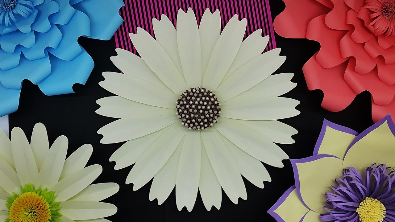Large Size Paper Flowers Giant Flower For Decoration Paper Flower Backdrop