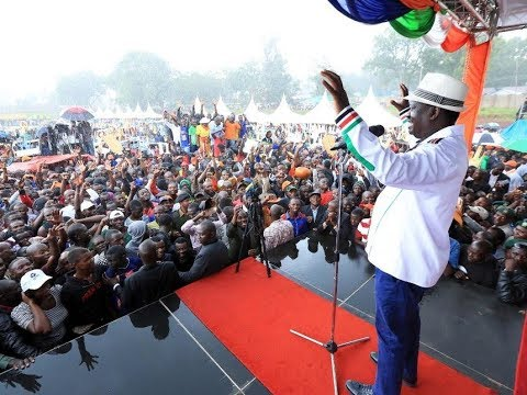 Download Youtube: Raila Oding changes tack ahead of 26th October Presidential Election