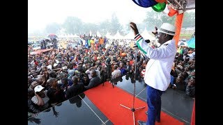 Raila Oding changes tack ahead of 26th October Presidential Election