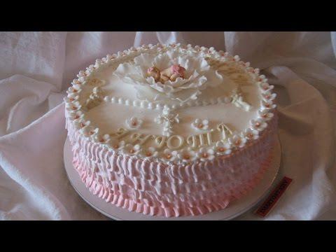 Торт на Крещение Ребенка.