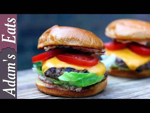 Beef Burger With Sun Dried Tomato Mayo | Comfort Food Recipe