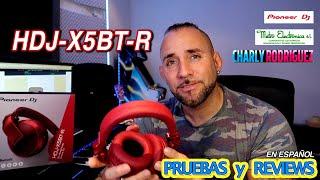 Pioneer HDJ-X5BT-R (Pruebas y Reviews)