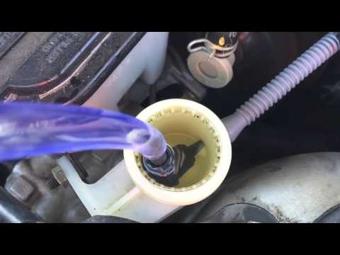 How to bleed air from hydraulic clutch