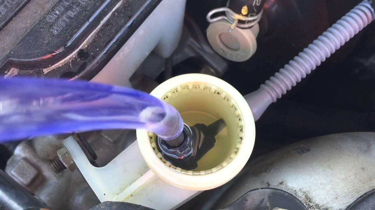 How to bleed air from hydraulic clutch  YouTube