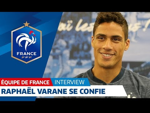 Equipe de France : Entretien avec Raphaël Varane I FFF 2018