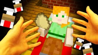 REALISTIC MINECRAFT - STEVE GETS LAID! - Chicken Lays Steve As An Egg