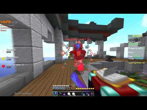 Cheating For Diamond Division In HYPIXEL RANKED SKYWARS