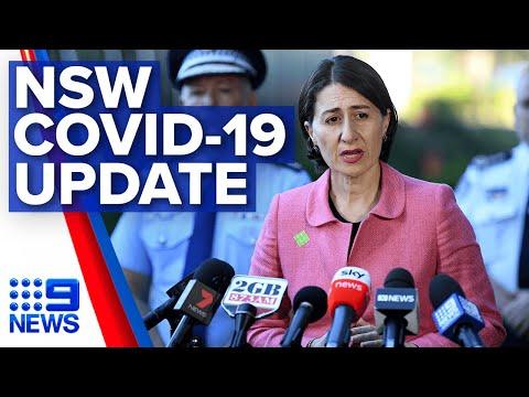 Coronavirus: NSW Premier Provides A COVID-19 Update | Nine News Australia