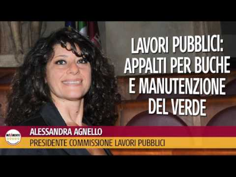 Alessandra Agnello (M5S Roma) -Radio Roma Capitale - 31/03/2017